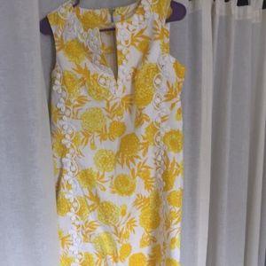 Vintage Lilly Pulitzer Shift Maxi Dress